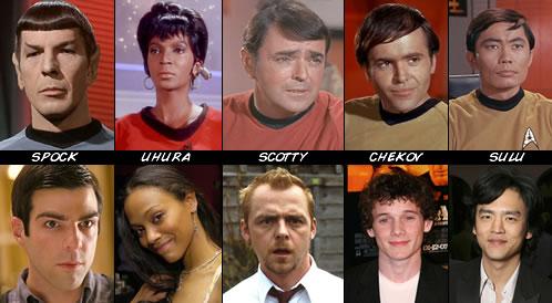 Reparto de Star Trek XI